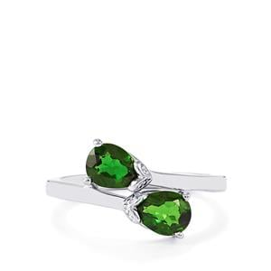 1.46ct Chrome Diopside Sterling Silver Ring