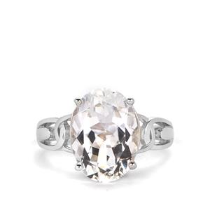 7ct Cullinan Topaz Sterling Silver Ring