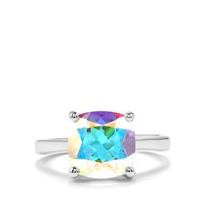 Mercury Mystic Topaz Ring in Sterling Silver 5.10cts