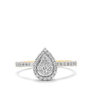 Canadian Diamond Ring in 18K Gold 0.53ct