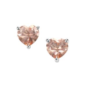 Galileia Topaz Earrings in Sterling Silver 2.90cts