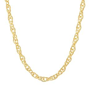 """24"""" Midas Classico Prince Of Wales Slider Chain 2.22g"""