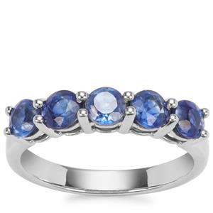 Daha Kyanite Ring in Platinum Plated Sterling Silver 1.69cts