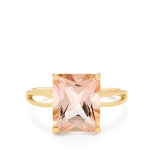 Galileia Topaz Ring  in 10k Gold 5.38cts