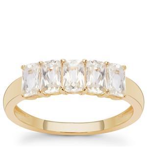 Ratanakiri Zircon Ring in 9K Gold 2.20cts
