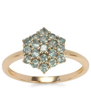 Alexandrite Ring in 9K Gold 0.78ct