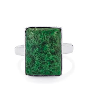 Jadeite Ring in Sterling Silver 11.48cts