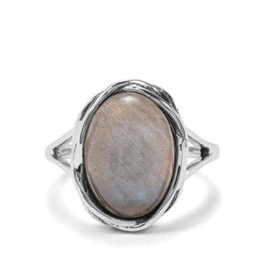 6.08ct Labradorite Sterling Silver Ring