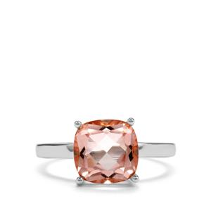 3.85ct Galileia Topaz Sterling Silver Designer Ring