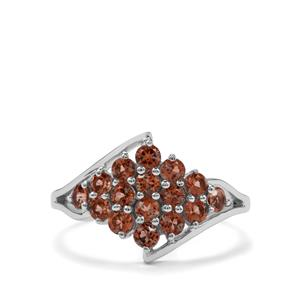1.09ct Sopa Andalusite Sterling Silver Ring