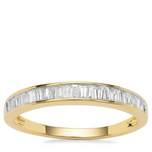 Diamond Ring in 18K Gold 0.43ct