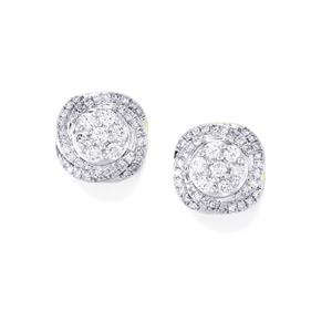 1/2ct Diamond 18K Gold Tomas Rae Earrings
