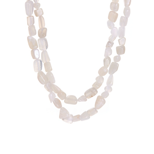 White Moonstone Necklace 265.50cts