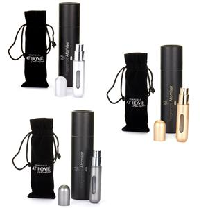 5ml Round Refillable Fragrance Atomiser in Choice of Colour