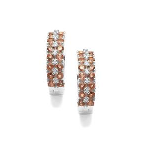 Sopa Andalusite Earrings in Sterling Silver 2.16cts