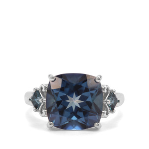 9.52ct Hope & London Blue Topaz Sterling Silver Ring