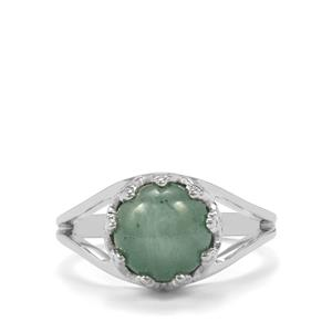 2.99ct Aquamarine Sterling Silver Ring
