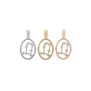 Ratanakiri Zircon Pendant  in Sterling Silver 0.15ct