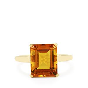 4.32ct Marialite 10K Gold Ring
