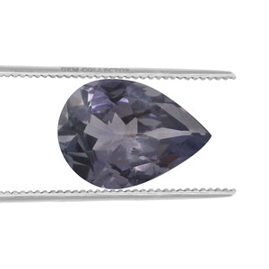 Bi Colour Tanzanite Loose stone  0.88ct
