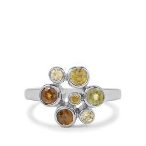 1.55ct Ambilobe & Morafeno Sphene Sterling Silver Ring