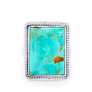 14.95ct Cochise Turquoise Sterling Silver Aryonna Ring