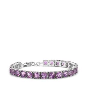 Moroccan Amethyst Bracelet in Sterling Silver 23.20cts