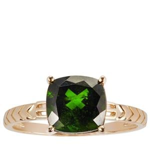 Chrome Diopside Ring in 9K Gold 2.20cts