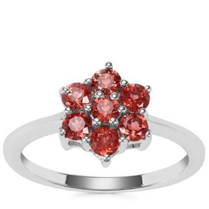 Nampula Garnet Ring in Sterling Silver 0.93ct