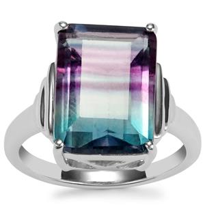 Zebra Fluorite Ring in Sterling Silver 8.83cts
