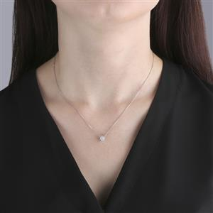 Diamond Necklace  in Sterling Silver 0.30ct