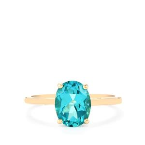 Batalha Topaz Ring in 9K Gold 2.18cts