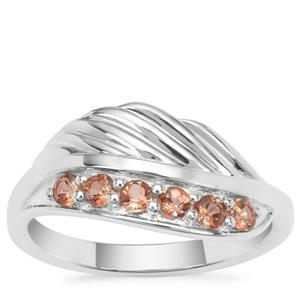 Sopa Andalusite Ring in Sterling Silver 0.40ct