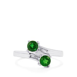 0.82ct Chrome Diopside Sterling Silver Ring