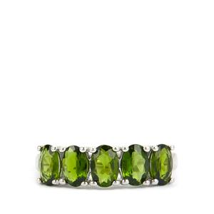 2.24ct Chrome Diopside Sterling Silver Ring