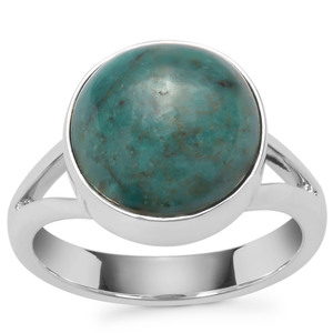 4.96ct Lhasa Turquoise Sterling Silver Aryonna Ring