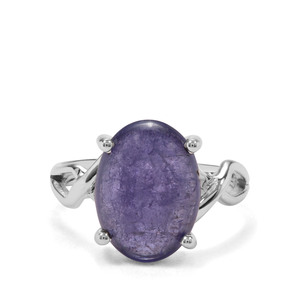7.80ct Tanzanite Sterling Silver Aryonna Ring