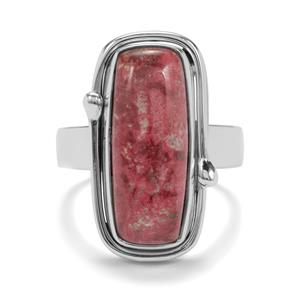 9ct Thulite Sterling Silver Aryonna Ring