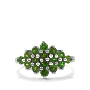 1.60ct Chrome Diopside Sterling Silver Ring