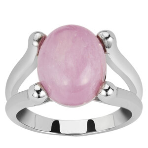 6.83ct Nuristan Kunzite Sterling Silver Ring