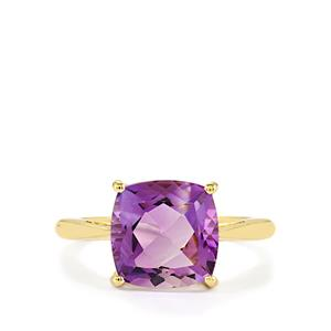1.98ct Moroccan Amethyst 10K Gold Ring
