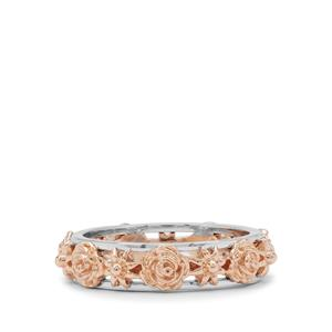Ring in 9K Two Tone Gold (Used Metal White Gold And Rose)