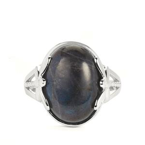 Labradorite Ring in Sterling Silver 8.83cts