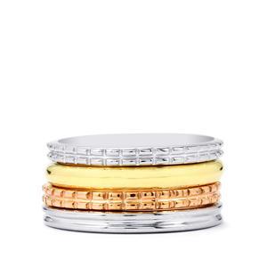 Set of 4 Rings in Sterling Silver