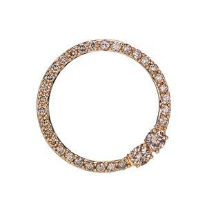 Argyle Diamond Pendant in 18K Gold 0.52ct