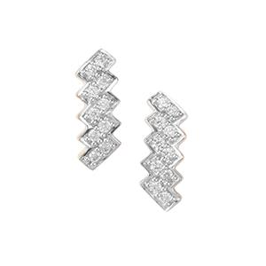 Argyle Diamond Earrings in 10K Gold 0.20ct