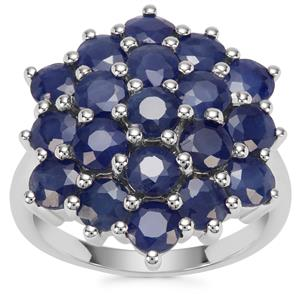 Orissa Sapphire Ring in Sterling Silver 7.33cts
