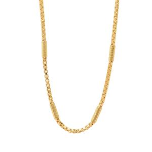 "18"" Midas Couture Diamond Cut Station Venetian Chain 3.43g"