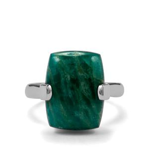 10ct Amazonite Sterling Silver Aryonna Ring