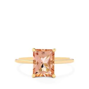 Galileia Topaz Ring in 10k Gold 2.85cts